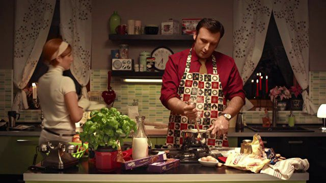 Kraft Foods Xmas - In the kitchen